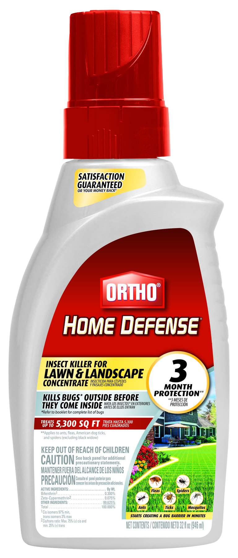 Ortho Home Defense Insect Killer Lawn Landscape Concentrate