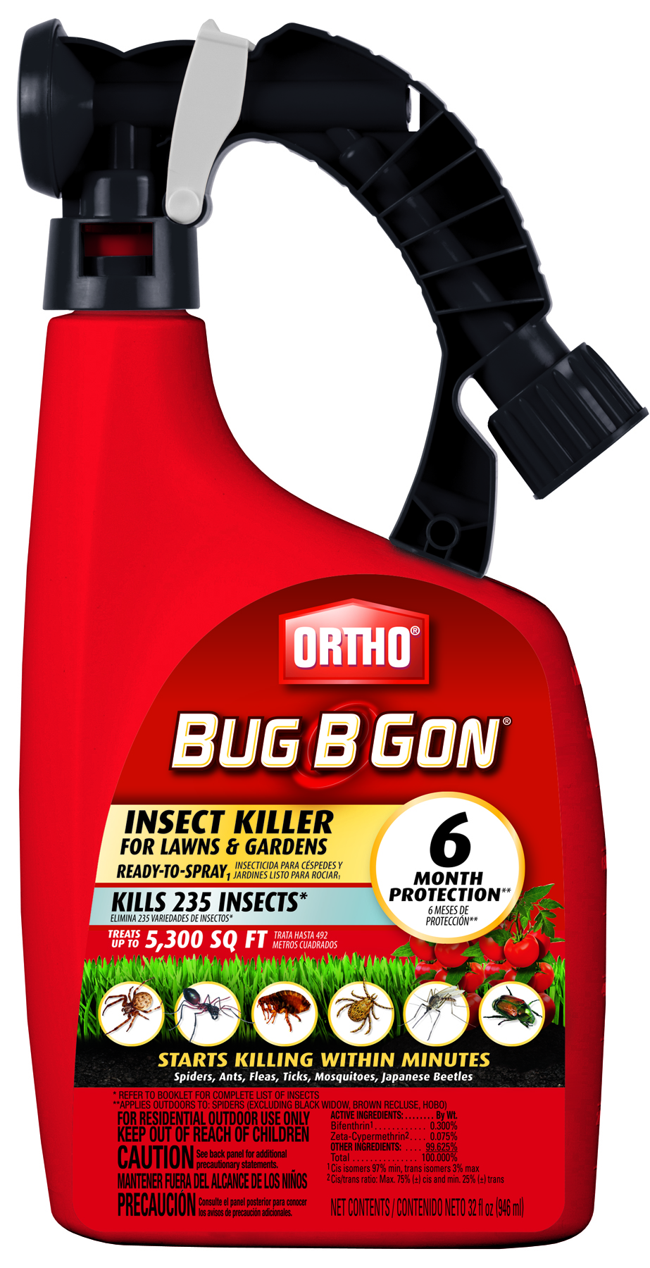 Battery Sprayer 1 Quart Mosquito Magician Concentrate