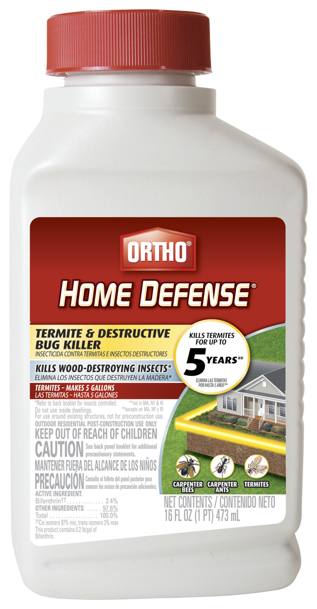 Ortho Home Defense Max Termite Destructive Bug