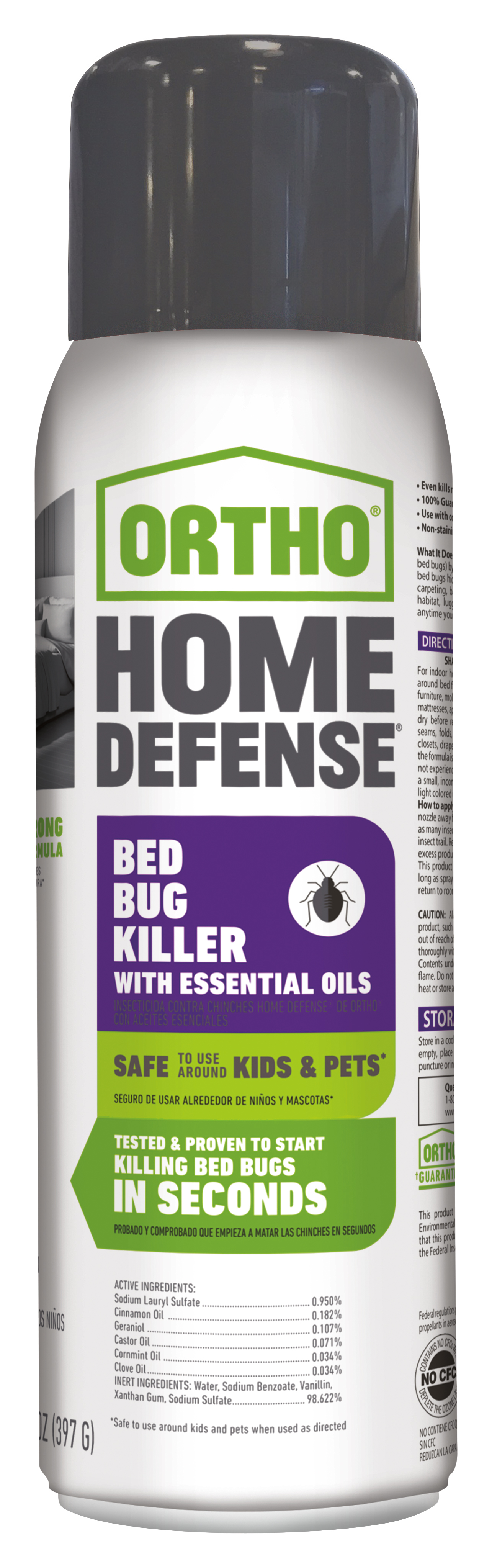 Ortho Home Defense Insect Killer Bed Bugs