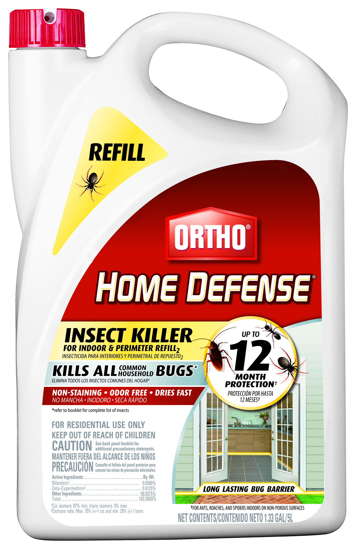 Ortho Home Defense Insect Killer For Indoor And Perimeter