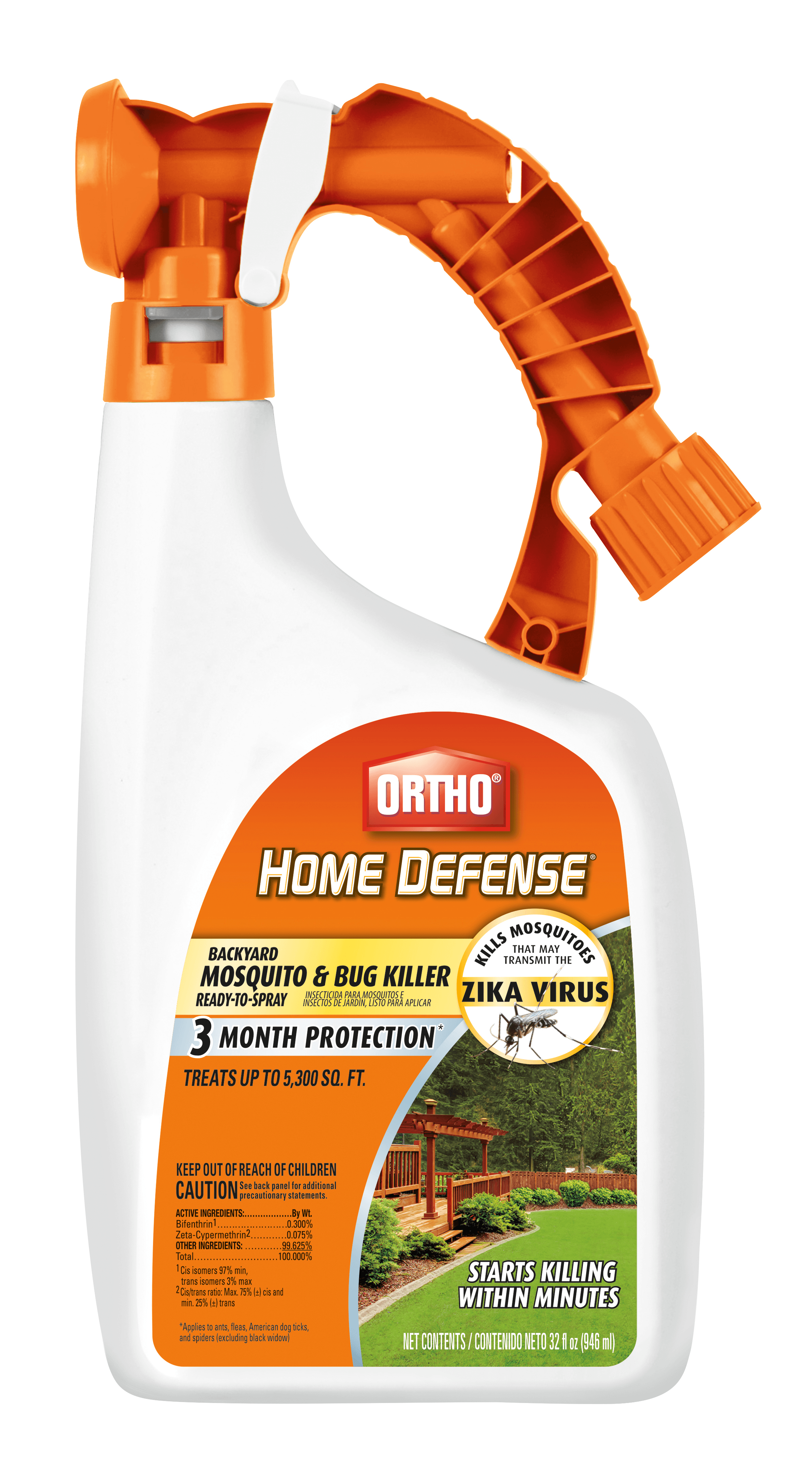Ortho Home Defense Backyard Mosquito And Bug Killer Ready To Spray