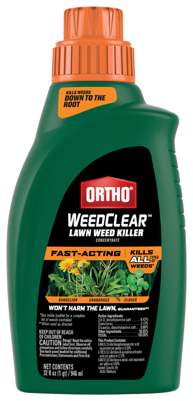 Ortho Weedclear Lawn Weed Killer Concentrate Ortho
