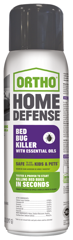 Ortho Home Defense Bed Bug Killer With Essential Oils Ortho