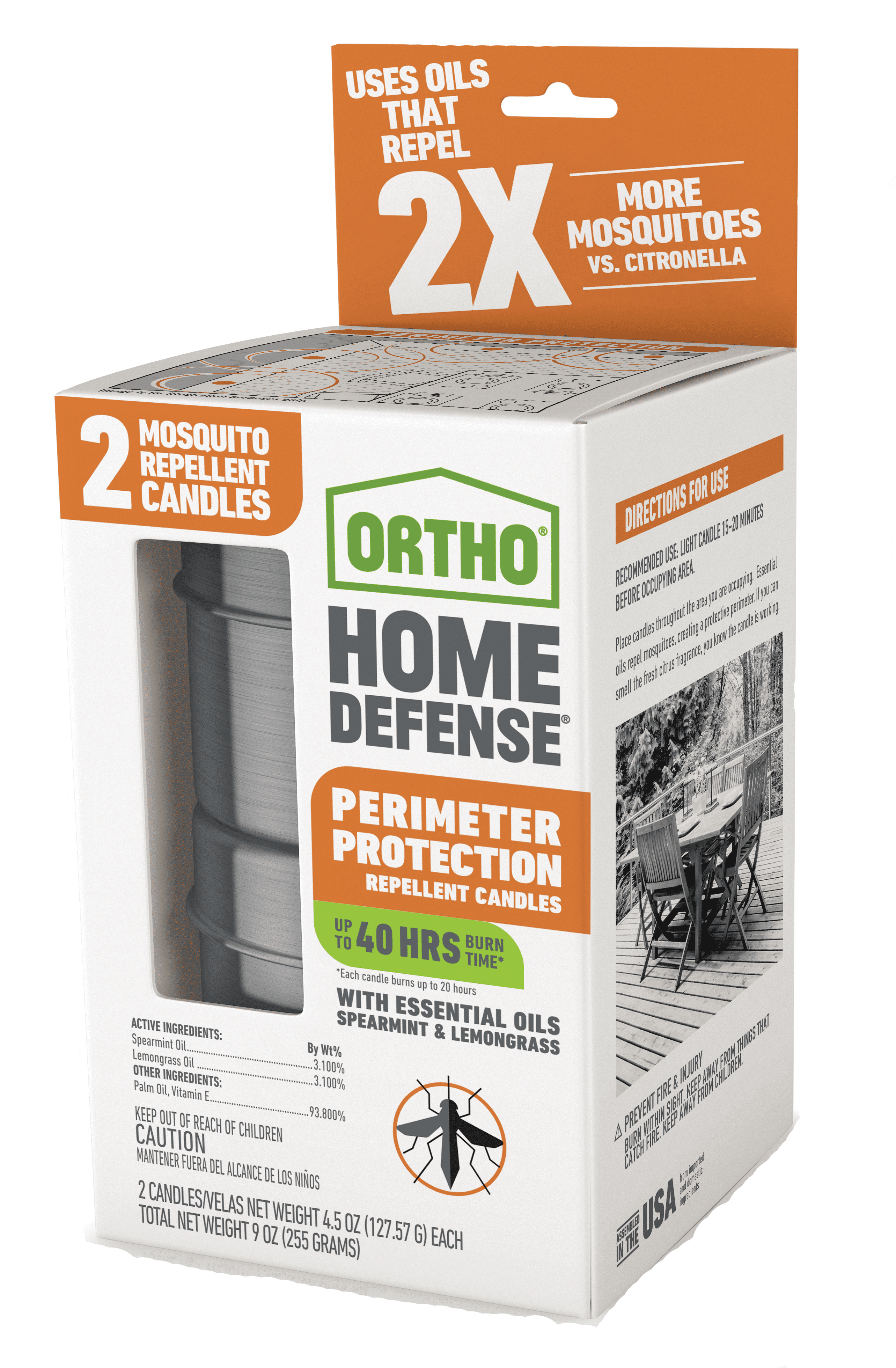 Ortho® Home Defense® Perimeter Protection Repellent Candles
