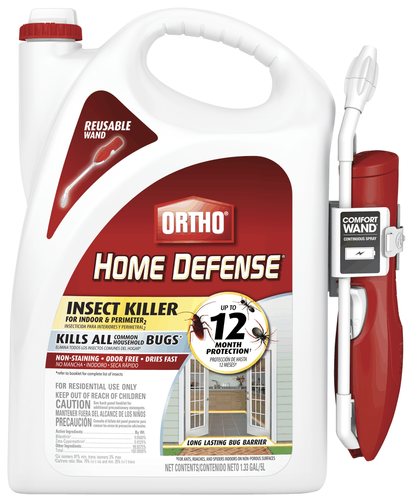 Ortho Home Defense Insect Killer For Indoor Perimeter2 With Comfort Wand