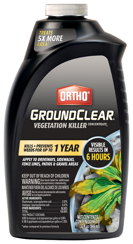Ortho Groundclear Concentrate 32 Oz