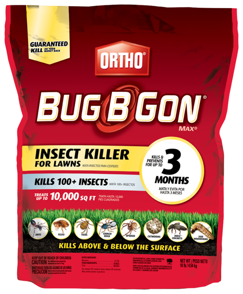 ortho bug b gon insect killer for lawns granules