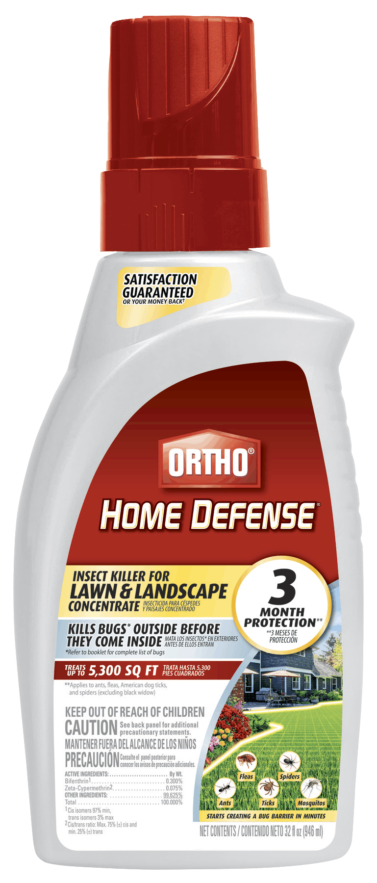 Will Ortho Home Defense Insect Killer Kill Bed Bugs