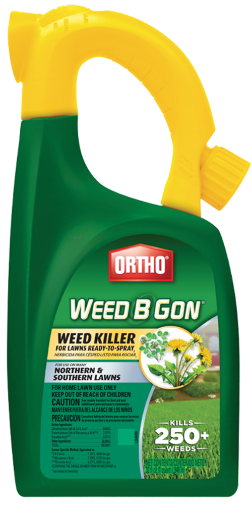 Ortho Weed B Gon Weed Killer For Lawns Ready Spray Weed Control