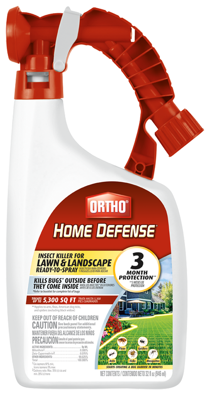 Ortho® Home Defense® Insect Killer for Lawn & Landscape Ready-To-Spray Packshot