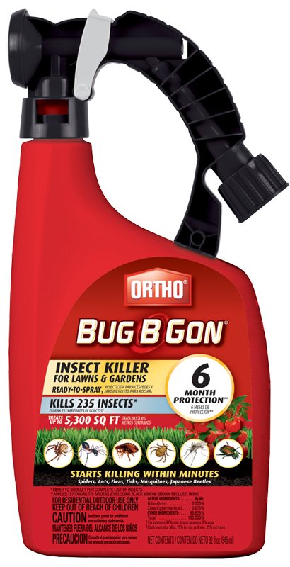 Ortho Bug B Gon Insect Killer for Lawns & Gardens Ready-to-Spray ...