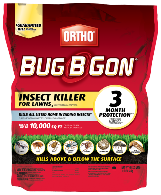 Ortho® Bug B Gon® MAX® Insect Killer For Lawns<sub>3</sub> (Granules) Packshot