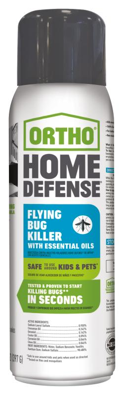 Ortho® Home Defense® Flying Bug Killer with Essential Oils