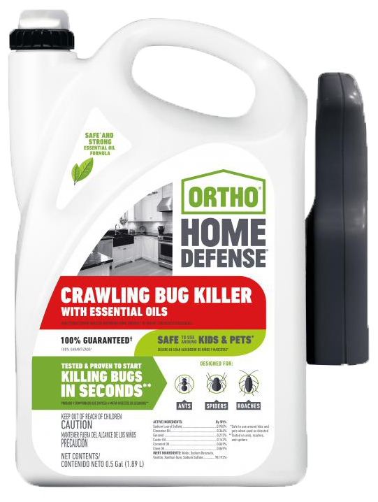 Ortho Home Defense Crawling Bug Killer With Essential Oils Ortho