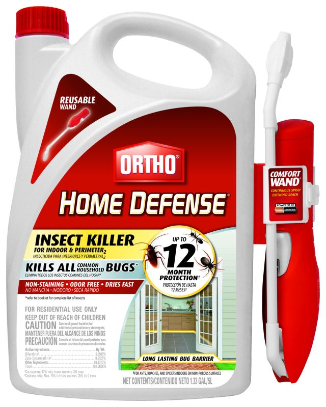 Ortho® Home Defense Insect Killer For Indoor & Perimeter with Comfort Wand