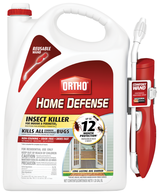 Ortho® Home Defense Insect Killer For Indoor & Perimeter2with Comfort Wand® Packshot