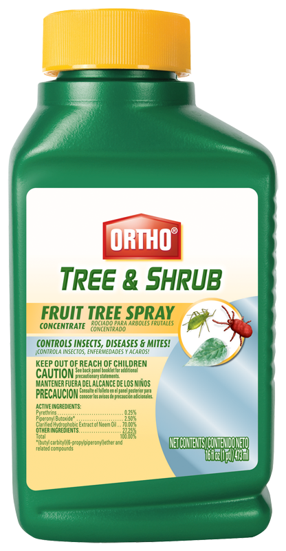 Ortho® Tree & Shrub Fruit Tree Spray Concentrate