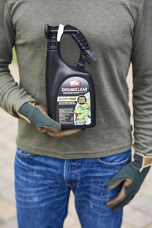 how to use Ortho GroundClear Vegetation Killer Ready-To-Spray 1