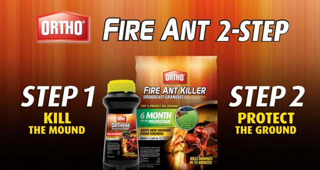 Fire Ant 2-Step Process