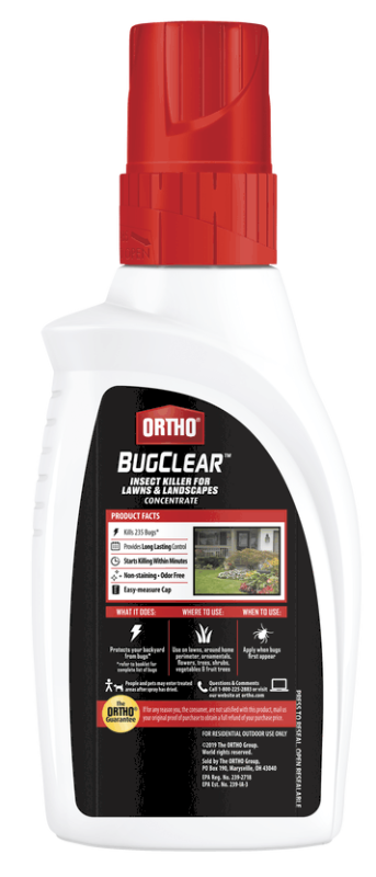 Ortho® BugClear™ Insect Killer for Lawns & Landscapes Concentrate Back