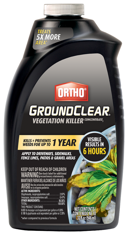 Ortho groundclear concentrate 32 oz.