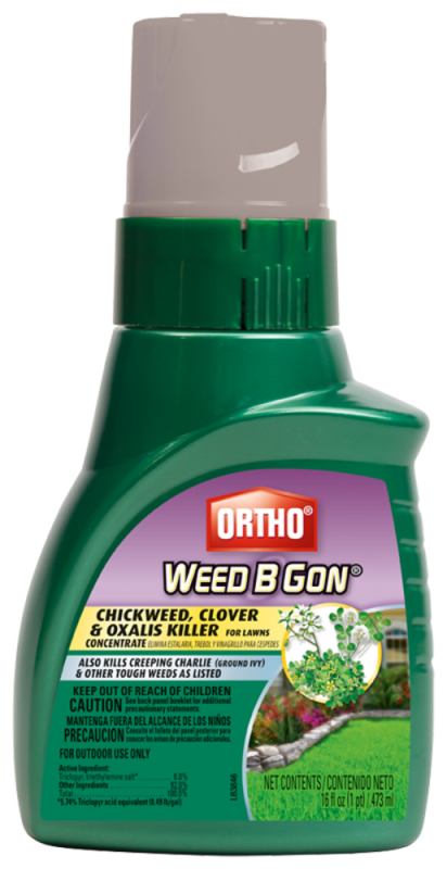Ortho Weed B Gon Chickweed Clover And Oxalis Killer For Lawns Concentrate Weed Killer Ortho