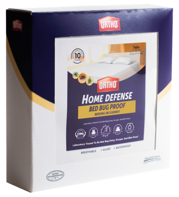 Ortho® Home Defense® Bed Bug Mattress or Box Spring Encasement Plus