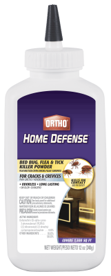 Ortho® Home Defense® Bed Bug, Flea & Tick Killer Powder
