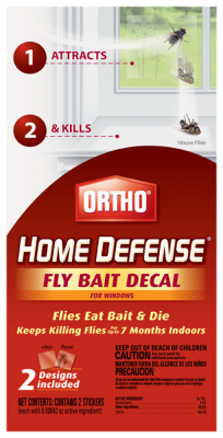 Ortho® Home Defense® Fly Bait Decal For Windows