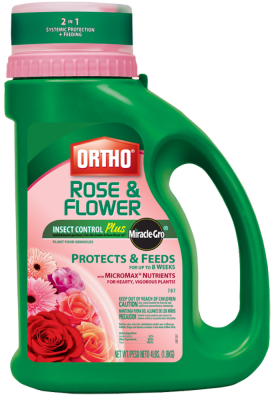 Ortho® Rose & Flower Insect Control Plus Miracle-Gro® Plant Food Granules