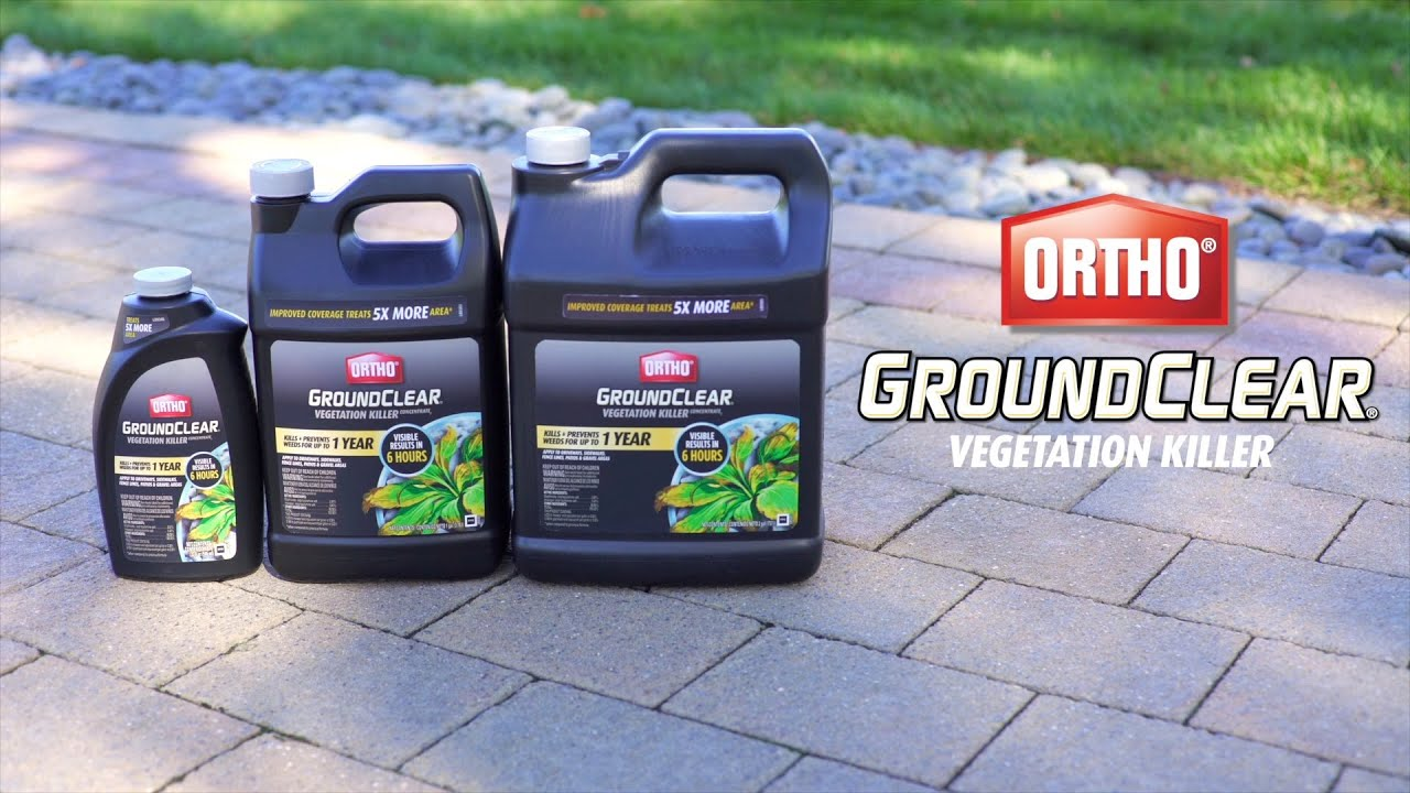 Ortho Groundclear Vegetation Concentrate Products